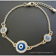 Evil Eye Full Diamond Bracelet (XBL13498)